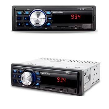 Kit Radio Mp3 + 4 Falantes + 1 Cabo Rca 1m + 2 Cabo Y