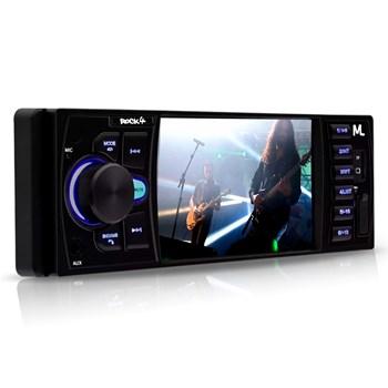 Kit Som Automotivo Mp5 Player + Camera Ré + Kit Duas Vias