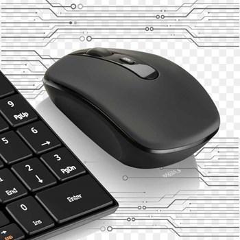 Kit Teclado E Mouse Profissional Sem Fio Slim Multilaser