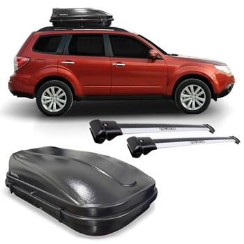 Kit Travessa Bagageiro Subaru Forester + Maleiro 510 Litros