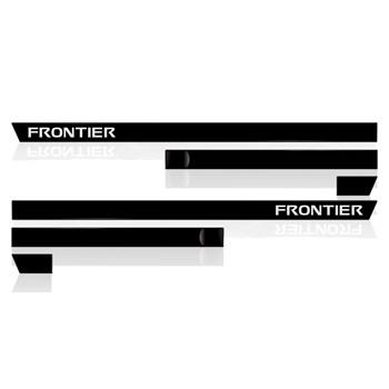 Kit Vedação Friso Lateral Frontier Cabine Dupla 6(peças)