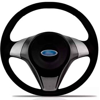 Kit Volante Actrative Cubo Ford + Tapete Pvc Com Carpete