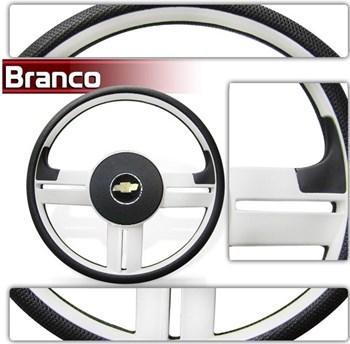 Kit Volante  Rallye Slim Branco com Cubo 111