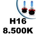 Lâmpada Super Branca H1 H3 H4 H7 H8 H9 H11 H16 55w