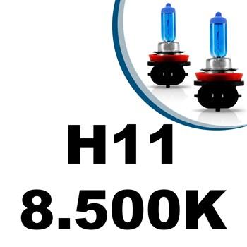 Lâmpada Super Branca H11 55w 8500k