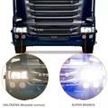 Lâmpada Super Branca H4 24v Farol Caminhão 5000k
