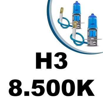 Lampada Super Branca Hb4 -9006 55w 8500k