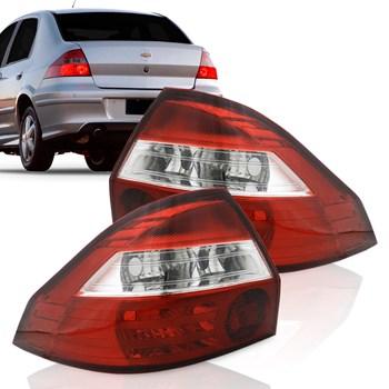 Lanterna Chevrolet Prisma 2006 A 2011 Bicolor