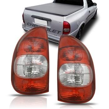 Lanterna Corsa Pickup E Corsa Wagon 2000 A 2005 Fumê
