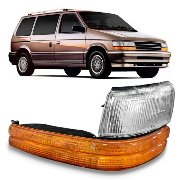 Lanterna Dianteira Grand Caravan 1991 A 1995