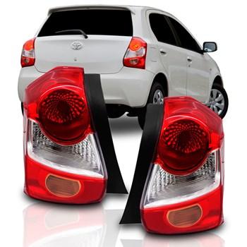Lanterna Etios Toyota Hatch 2012 A 2018 Bicolor