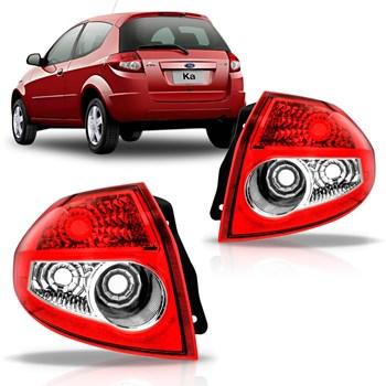 Lanterna Ford Ka 2008 A 2012 Bicolor