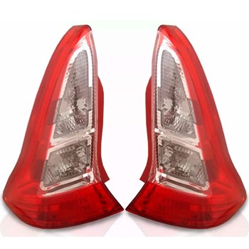 Lanterna Traseira C4 2006 A 2007 Sport Vtr Vermelha/rosa