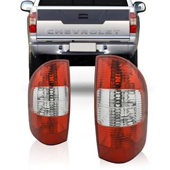 Lanterna Traseira Chevrolet S10 2001 A 2010 Fume