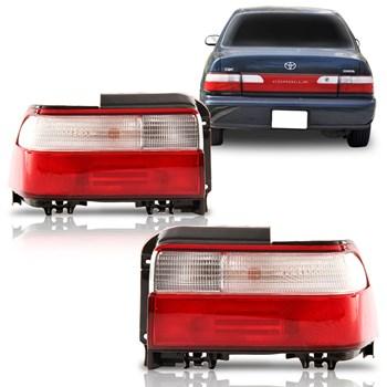 Lanterna Traseira Corolla 1994 1995 1996 1997 Bicolor