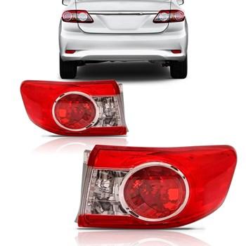Lanterna Traseira Corolla 2012 A 2014 com Soquete