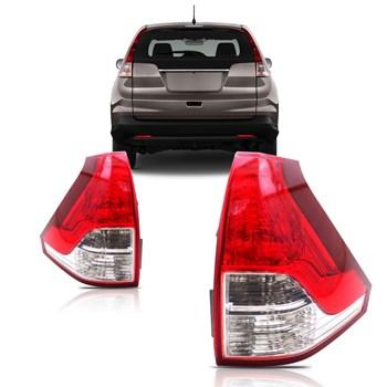 Lanterna Traseira Crv 2012 A 2014 Inferior Completa