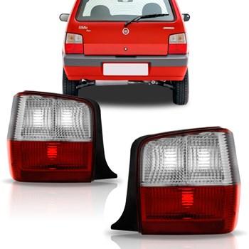 Lanterna Traseira Fiat Uno Fire Flex 2004 A 2012 Bicolor