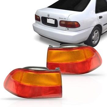 Lanterna Traseira Honda Civic 1992 A 1995 sedan Canto