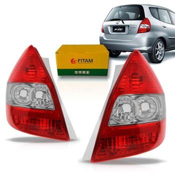 Lanterna Traseira Honda Fit 2003 04 05 06 07 2008