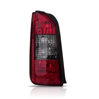 Lanterna Traseira Idea Grade Preta 2005 2006 2007 2008 2009 2010 2011