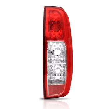 Lanterna Traseira Nissan Frontier 2008 2009 2010 2011 2012 2013 2014 Bicolor Sem Soquete