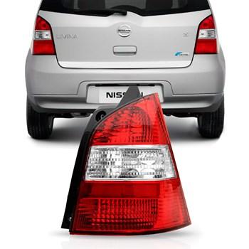 Lanterna Traseira Nissan Livina 2009 A 2012 Bicolor