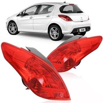 Lanterna Traseira Peugeot 308 Ano 2012 2013 2014 2015 2016