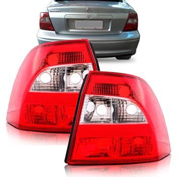 Lanterna Traseira Vectra 2000 2001 2002 2003 2004 2005 Bicolor