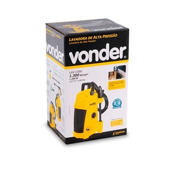 Lavadora De Alta Pressão 1300psi Lav1200 220 V Vonder