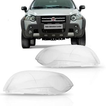 Lente Farol Fiat Palio Strada Locker Adventure 2009 A 2012