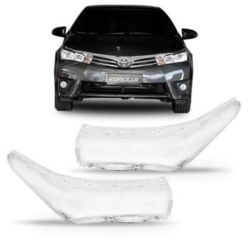 Lente Farol Toyota Corolla Xei Seg 2015 A 2017