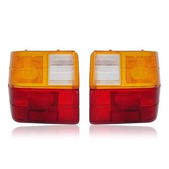 Lente Lanterna Traseira Fiat Uno Ambar 1986 A 2003 Tricolor