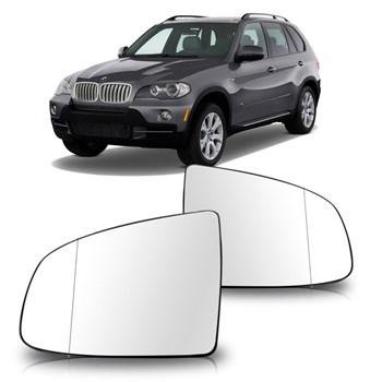 LENTE RETROVISOR BMW X5 2008 A 2010 X6 2010 A 2011 COM AQUECEDOR