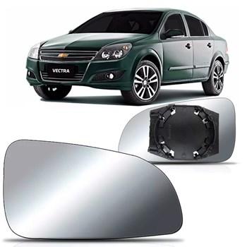 Lente Retrovisor Com Base Chevrolet Vectra 2006 A 2010