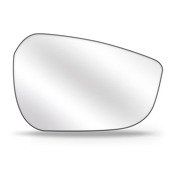 Lente Retrovisor Hb20 Hatch Ou Sedan Elantra 11 A 16 com Base