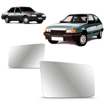 Lente Retrovisor Kadett 1994 1995 1996 Monza 1991 1992 1993 1994 1995 Com Base