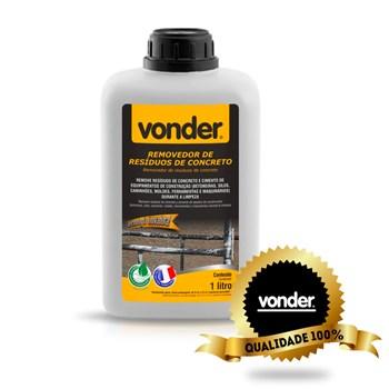 Limpeza Pós Obra Biodegradável Concreto Tinta 01l Vonder