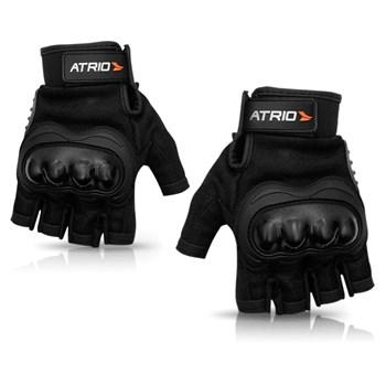 Luva Moto Com Proteção + Capa Chuva Atrio M