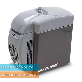 Mini Geladeira Cooler Automotivo 12v + Macaco Elétrico