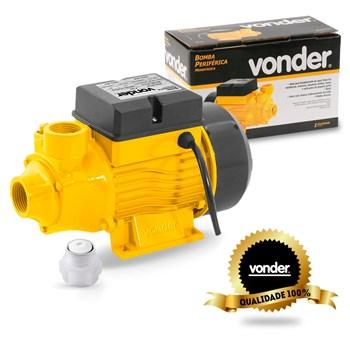 Moto Bomba D'agua Periférica 1/2 Cv Monofásico Bpv Vonder