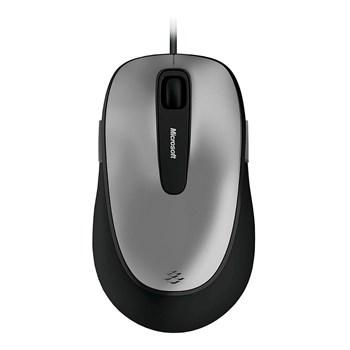 Mouse Microsoft Com Fio Comfort Usb Preto E Cinza - 4fd00025