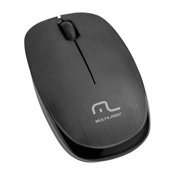 Mouse Sem Fio Multilaser 1200DPI 2.4Ghz Usb Preto - MO251