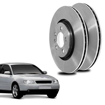 Par Disco De Freio Audi A3 1.6 2000 A 2003 Dianteiro Ventilado