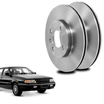 Par Disco De Freio Ford Versailles 1994 A 1996 Dianteiro