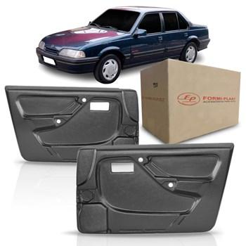 Par Forro de Porta Chevrolet Monza 1991 1992 1993 1994 1995 4 Portas Preto