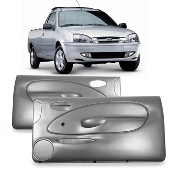 Par Forro Porta Courier 1996 1997 1998 1999 2000 2001 Fiesta 02p Manual