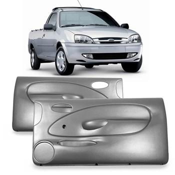 Par Forro Porta Courier 1996 1997 1998 1999 2000 2001 Fiesta 2  Portas