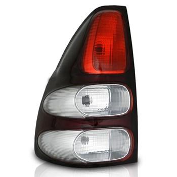 Par Lanterna Traseira Toyota Land Cruiser Prado 2003 A 2009