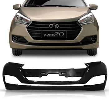 Parachoque Dianteiro Hyundai Hb20 2016 A 2018 Preto